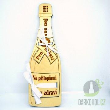 Hlavní kategorie - Dřevěná lahev Na zdraví
