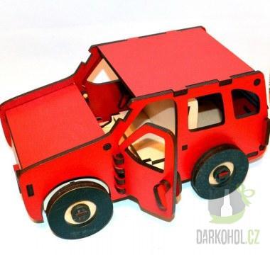 Hlavní kategorie - Dřevěné auto červené Nejedlý