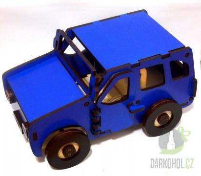 Hlavní kategorie - Dřevěné auto modré Nejedlý