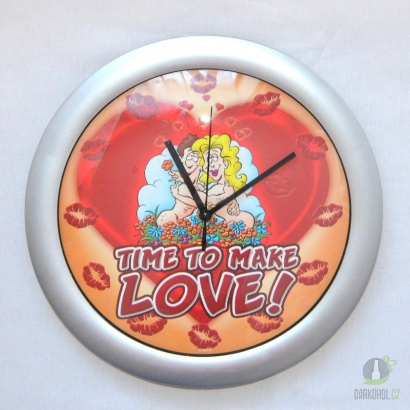 Hlavní kategorie - Hodiny-Time to make love - poslední kus !