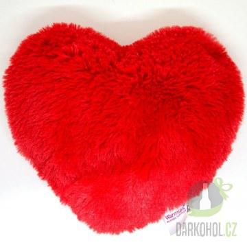 Hlavní kategorie - Hřejivá plyš tvarovaná Srdce-poslední kus!
