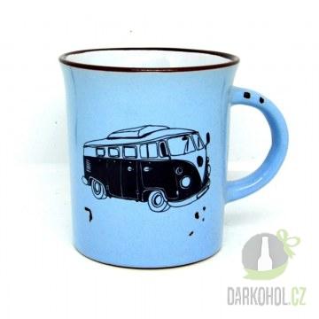 Hlavní kategorie - Hrnek  Autobus modrý-poslední kus