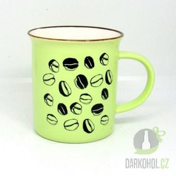 Hlavní kategorie - Hrnek Káva zelený