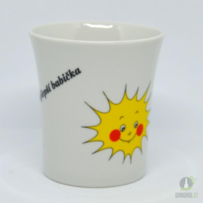 Hlavní kategorie - Hrnek porcelánový Nejlepší babička-Poslední kus!!!