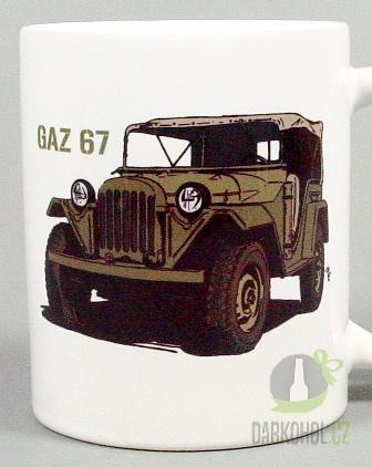 Hlavní kategorie - Hrnek retro Gaz 67