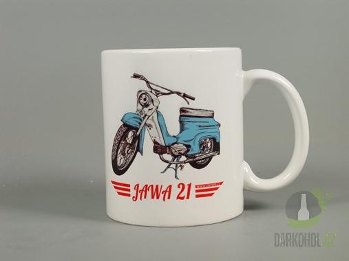Hlavní kategorie - Hrnek retro Jawa 21