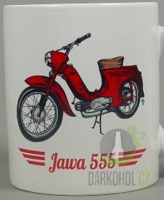 Hlavní kategorie - Hrnek retro Jawa 555