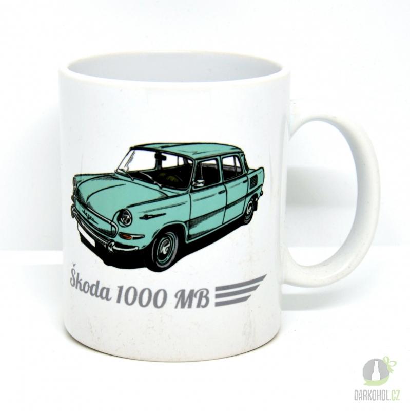 Hlavní kategorie - Hrnek retro Škoda 1000 MB