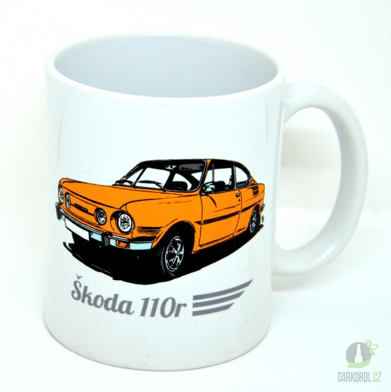 Hlavní kategorie - Hrnek retro Škoda 110 r