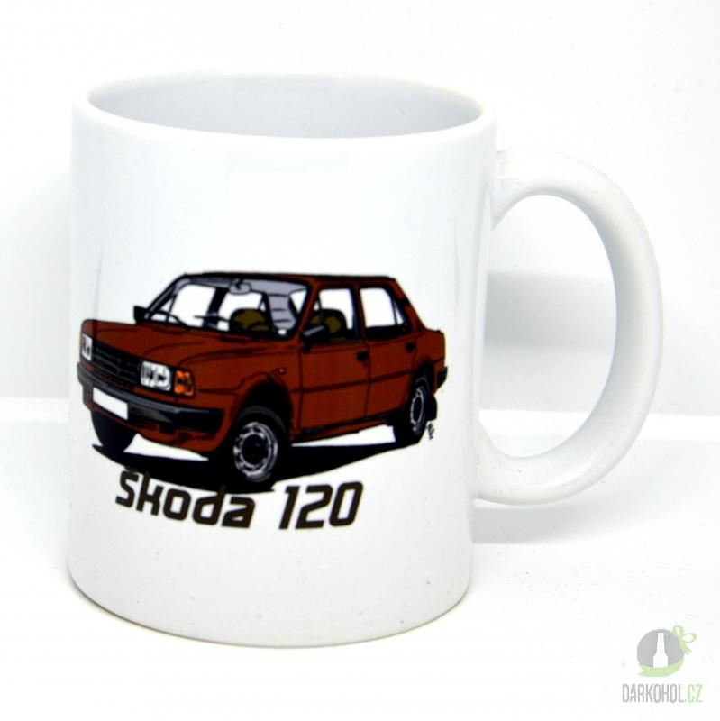 Hlavní kategorie - Hrnek retro Škoda 120