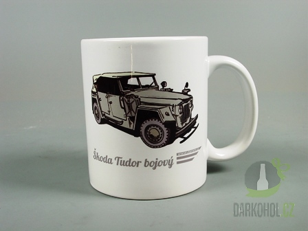 Hlavní kategorie - Hrnek retro Škoda Tudor bojový