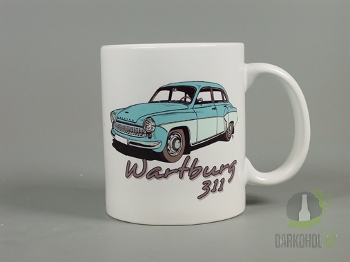 Hlavní kategorie - Hrnek retro Wartburg 311