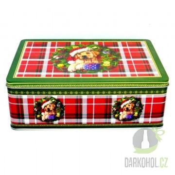Hlavní kategorie - Hrnek vánoční pes 2ks v plechu-poslední kus!