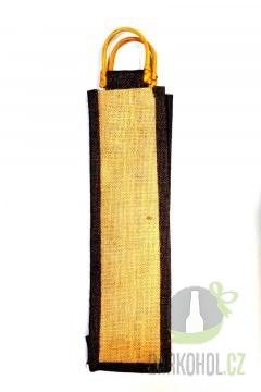 Hlavní kategorie - Jutová taška 10x36cm okénko hnědá