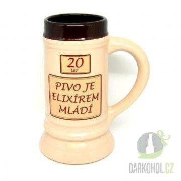 Hlavní kategorie - Korbel 20 let Pivo je elixír mládí