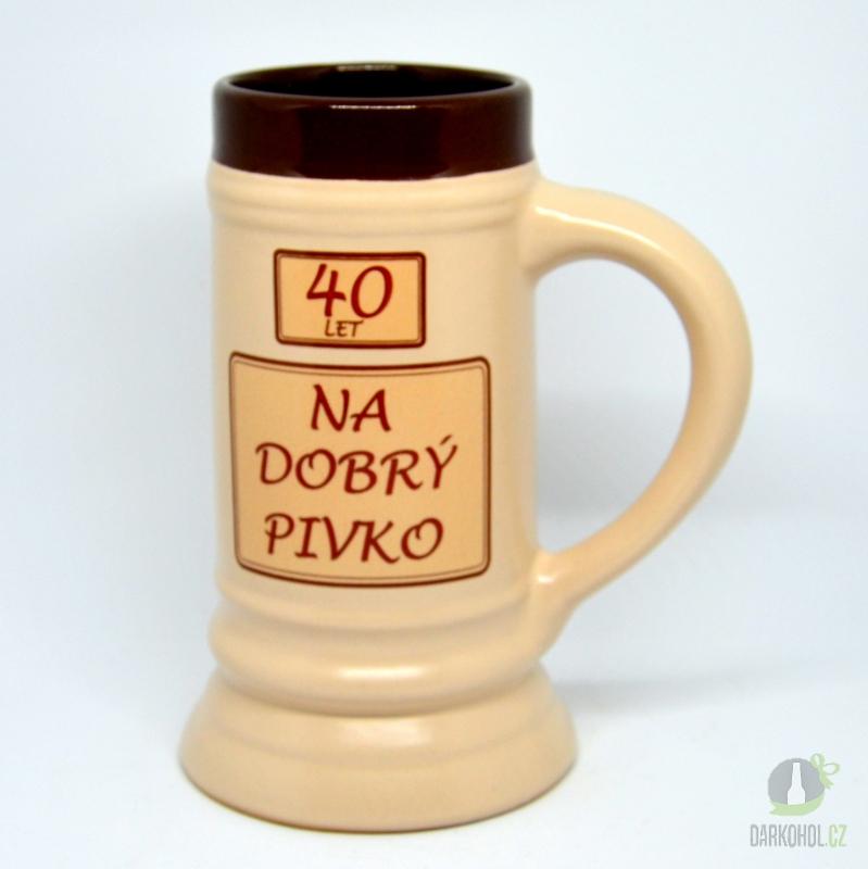 Hlavní kategorie - Korbel keramický 40- na dobré pivko