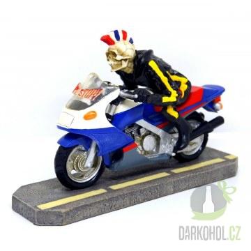 Hlavní kategorie - Kostra motocyklista punk-poslední kus!