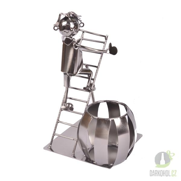 Hlavní kategorie - Kovový stojan na lahev Žebřík