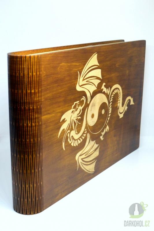Hlavní kategorie - Krabice na fotky Drak hnědá