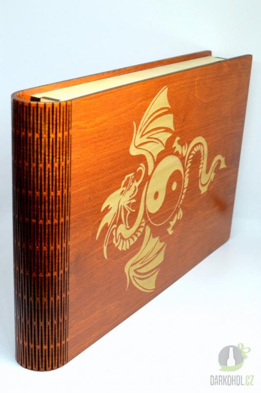 Hlavní kategorie - Krabice na fotky Drak světle hnědá