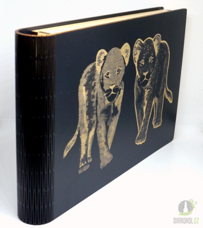 IMPORT - Krabice na fotky Lvi černá