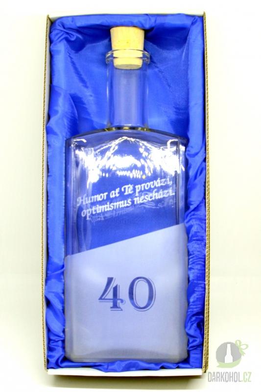 Hlavní kategorie - Láhev kniha 40 let 1l