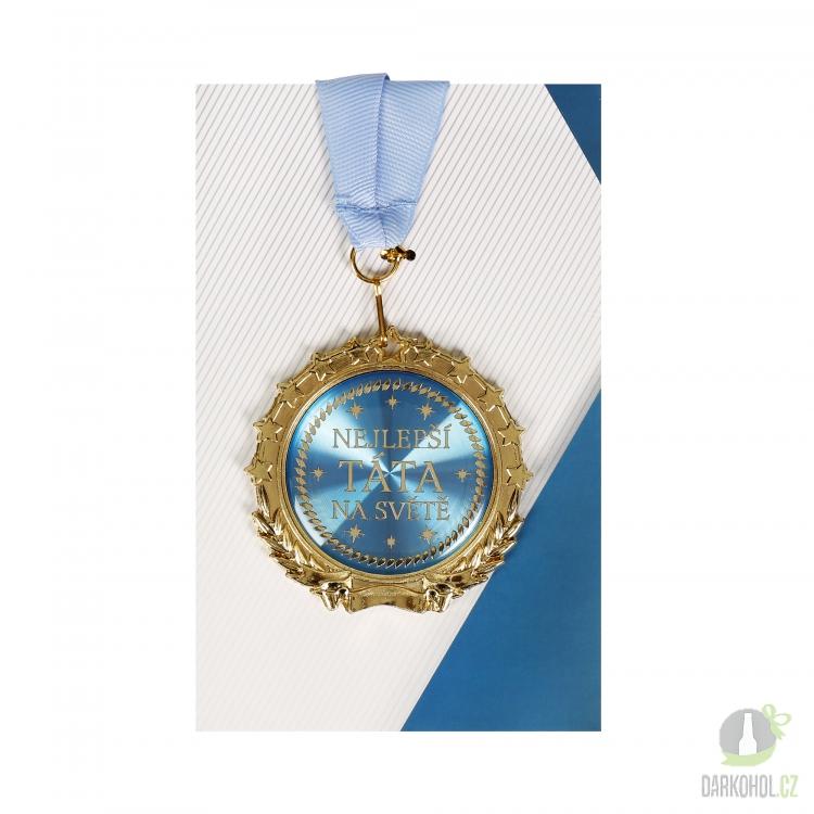 Hlavní kategorie - Medaile Nejlepší táta - modrá