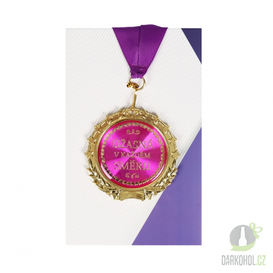 Hlavní kategorie - Medaile Úžasná v každém směru
