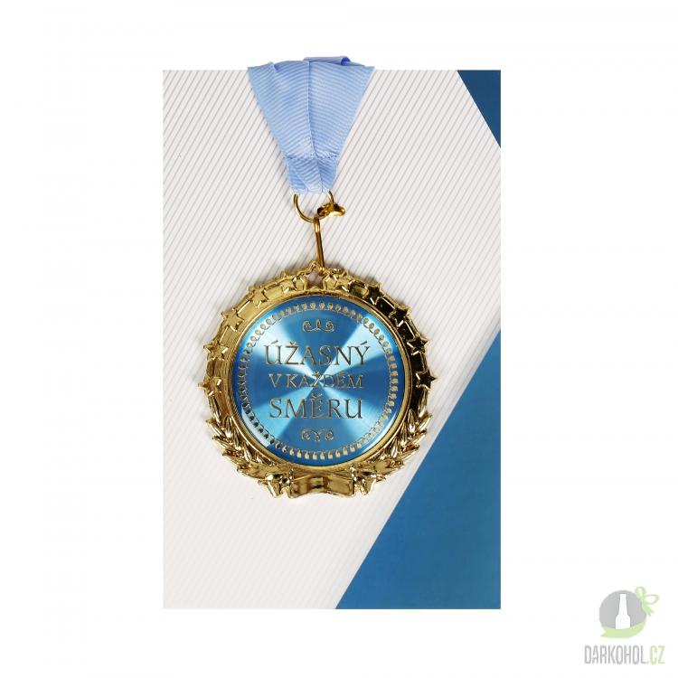 Hlavní kategorie - Medaile Úžasný v každém směru