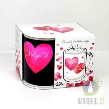 Hlavní kategorie - Měnící hrnek Víc než kávu srdce