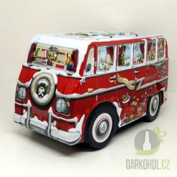 Hlavní kategorie - Dóza Mikrobus vánoční 232*109*123-poslední kus!