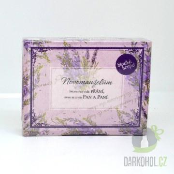 Hlavní kategorie - Mýdlo v krabičce Novomanželům - Poslední kus !