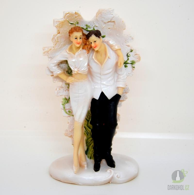 Hlavní kategorie - Figurky ženich s nevěstou 16cm
