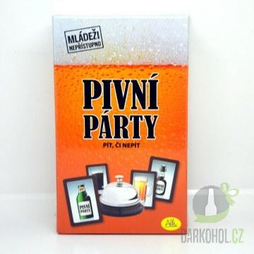 Hlavní kategorie - Pivní párty- alkoholová hra