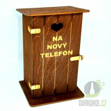 Hlavní kategorie - Pokladnička-Záchod-Na nový telefon