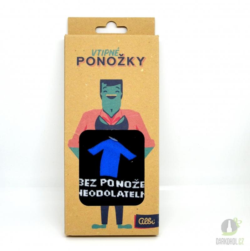 Hlavní kategorie - Ponožky s textem Bez ponožek neodolatelný