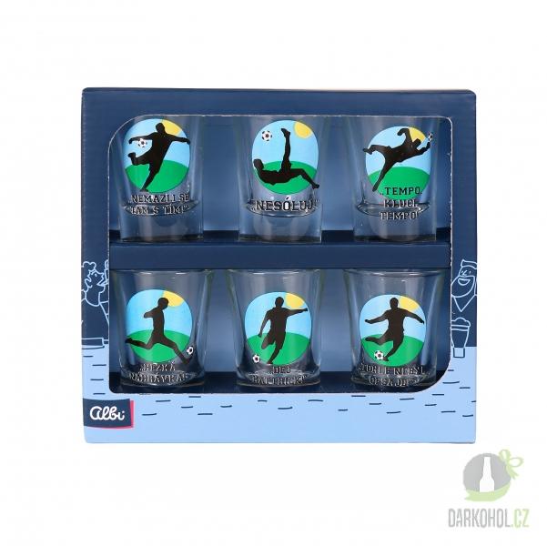 Hlavní kategorie - Sada panáků 3+3 Fotbal barevný