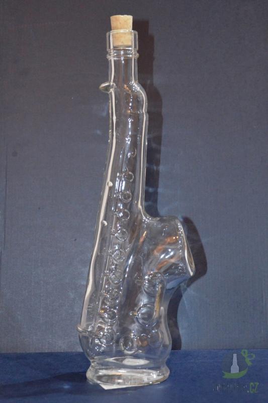 Hlavní kategorie - Láhev čirá saxofon 0,5l