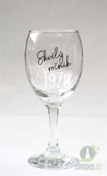 Hlavní kategorie - Sklenice na víno 1979
