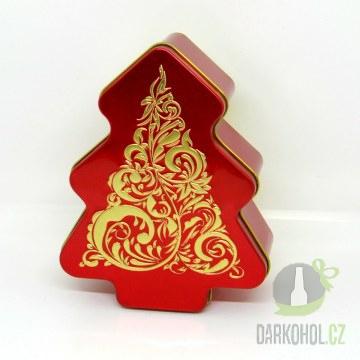 Hlavní kategorie - Dóza Stromek 142*112*50 červený-poslední kus!