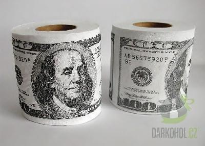 Hlavní kategorie - Toaletní papír Dolary