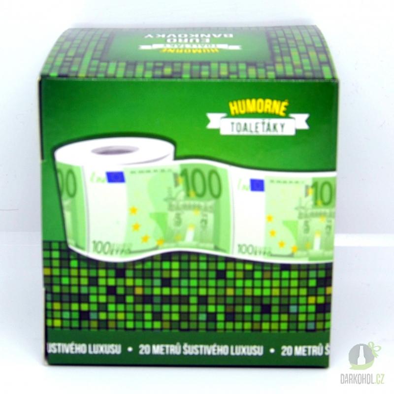 Hlavní kategorie - Toaletní papír 100 EURO