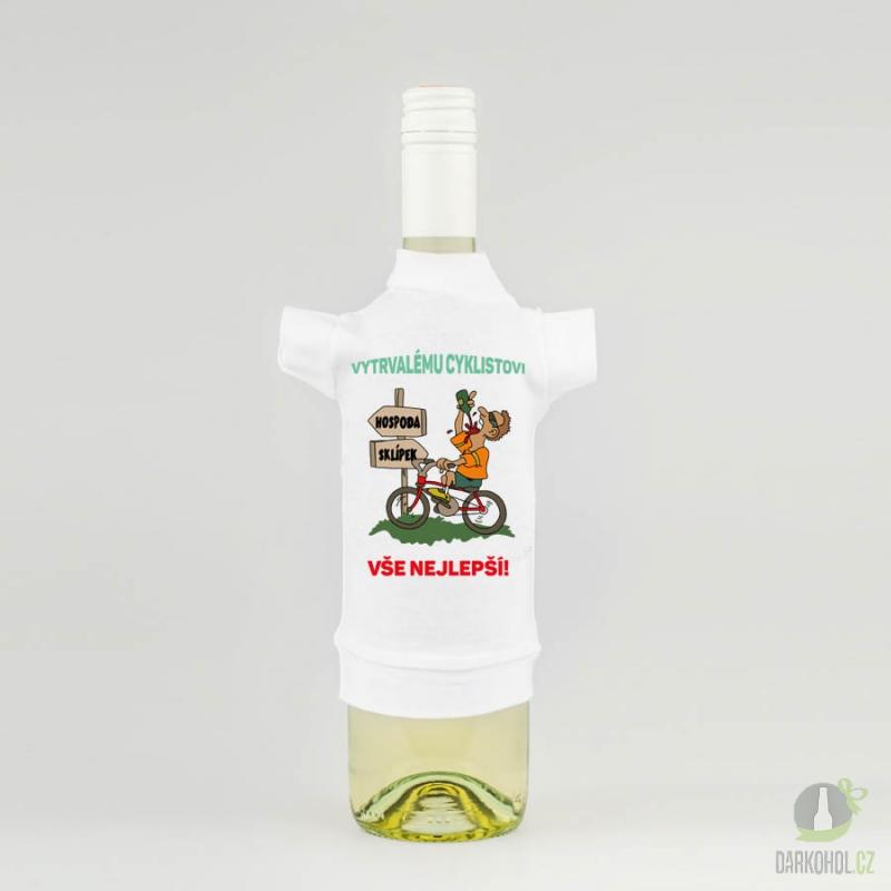 Hlavní kategorie - Tričko láhev Cyklista víno