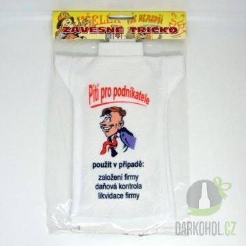 IMPORT - Tričko láhev Podnikatel