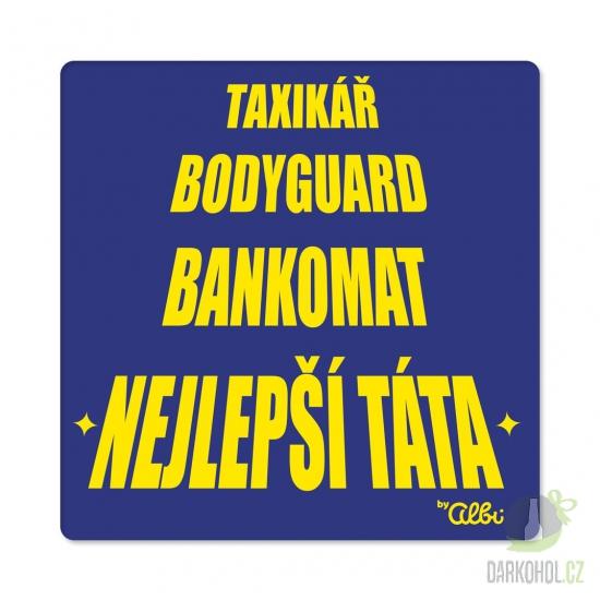 Hlavní kategorie - Tričko Taxikář bodyguard modré