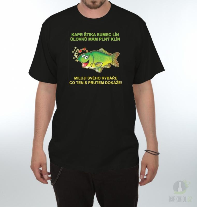 Hlavní kategorie - Triko Batoh,vlasce,háčky zelená