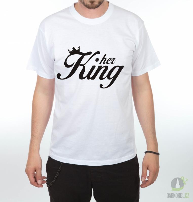 Hlavní kategorie - Triko Her King bílá