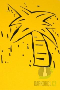 Hlavní kategorie - Triko Palma XXL žluté - poslední kus!