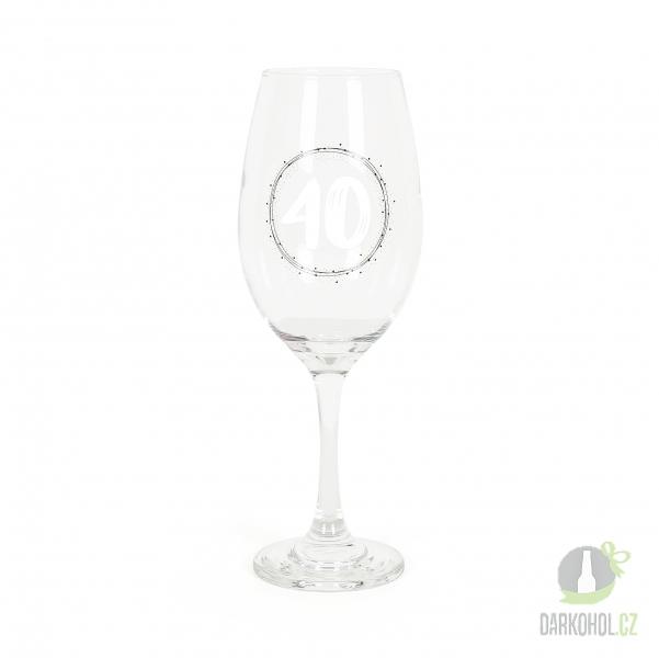 Hlavní kategorie - Velká sklenice na víno 40