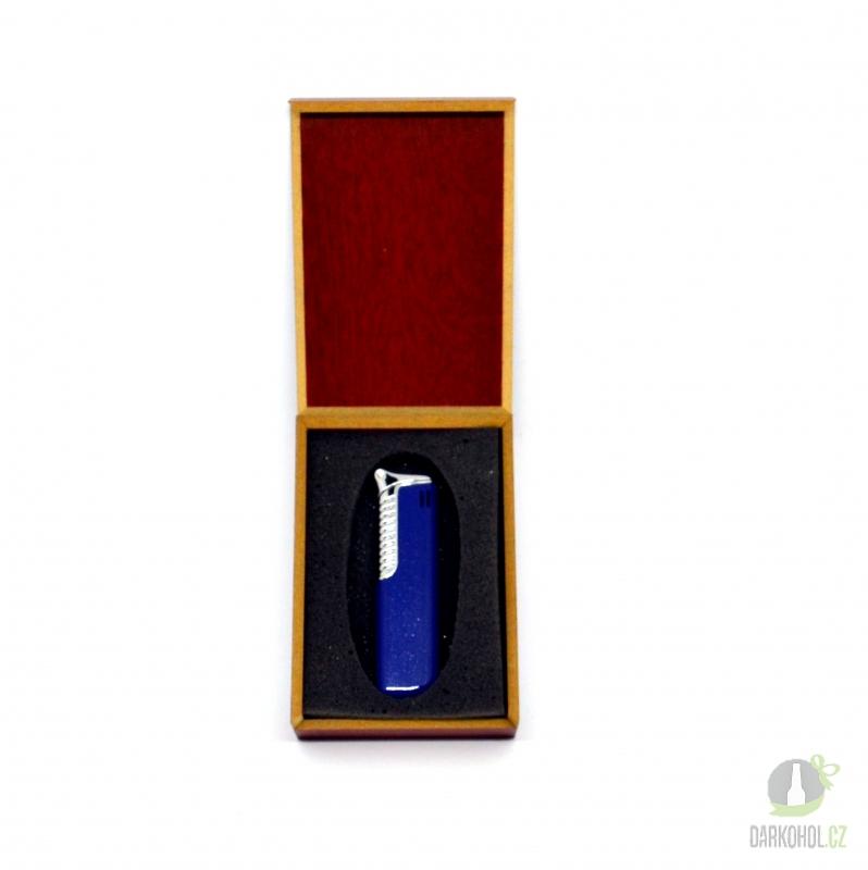 Hlavní kategorie - Zapalovač  Vienna piezo modrý